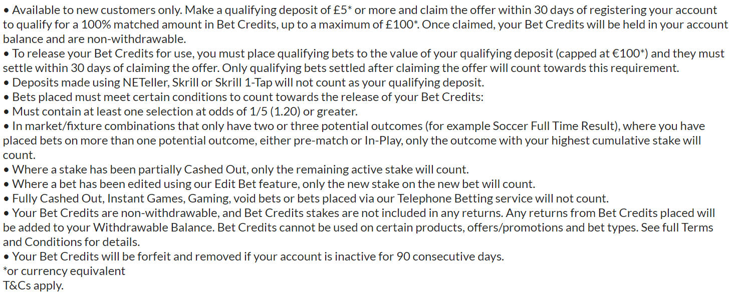 Bet365 Sign-Up Offers in UK (2019)